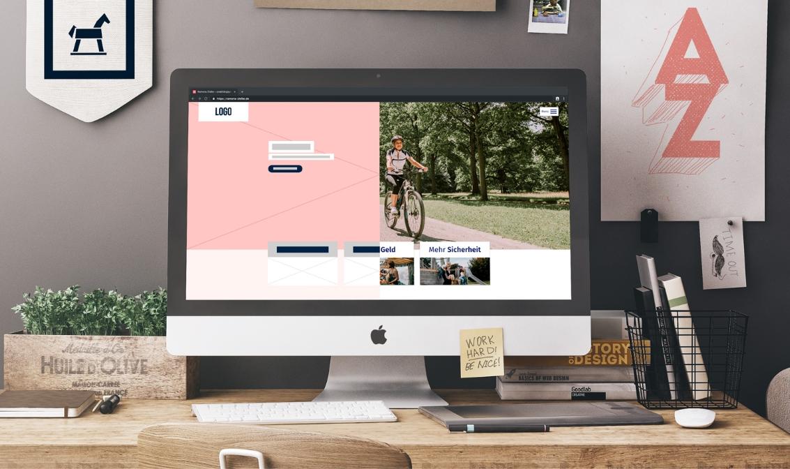 Website von Finanzberaterin Ramona Zielke.